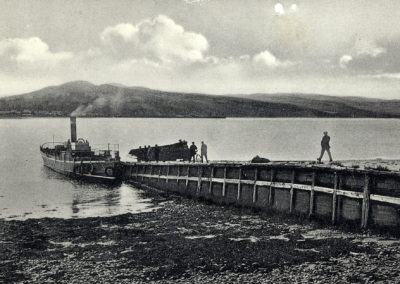 3 steam ferry at NK pier